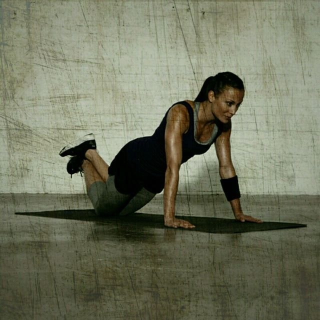 How to do: Modified Planks - Step 1