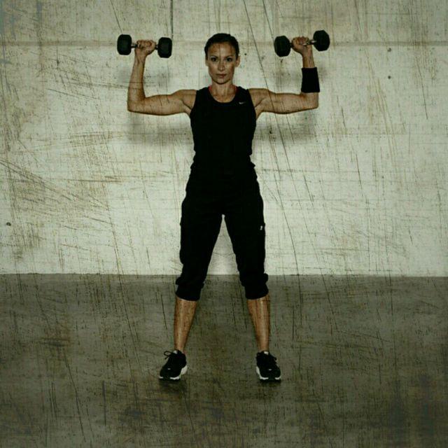 How to do: Shoulder Press - Step 2