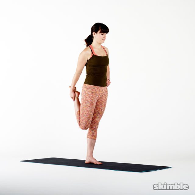 How to do: Quad Stretches - Step 1