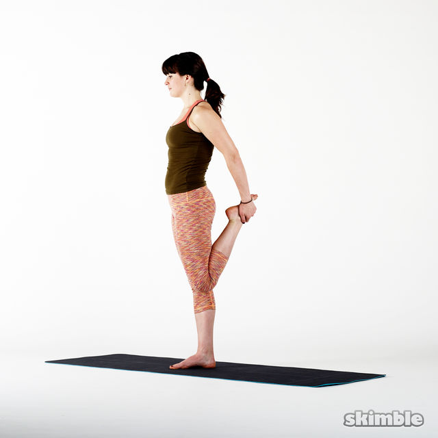 How to do: Quad Stretches - Step 3