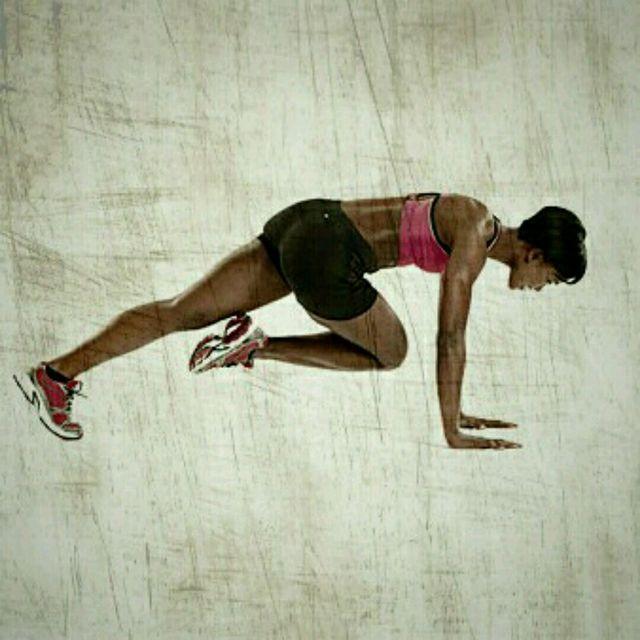 How to do: Cross Climbers - Step 1