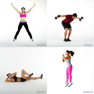 Joan's workouts