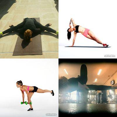 Heidi's workouts
