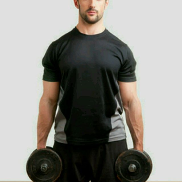 How to do: Dumbell Shrug - Step 1