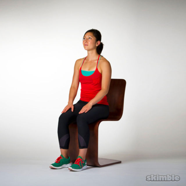 How to do: Tricep Stretches - Step 2