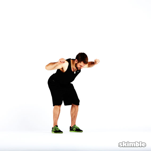 How to do: Boxer Fist Reaches - Step 1