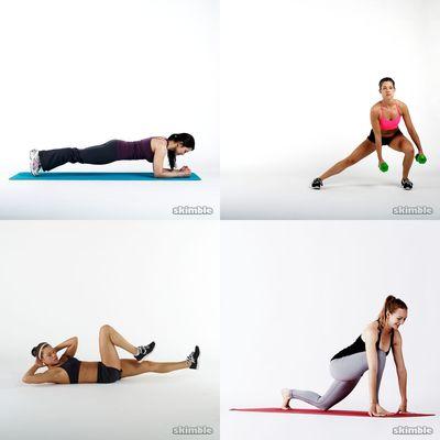 Tracy's exercises