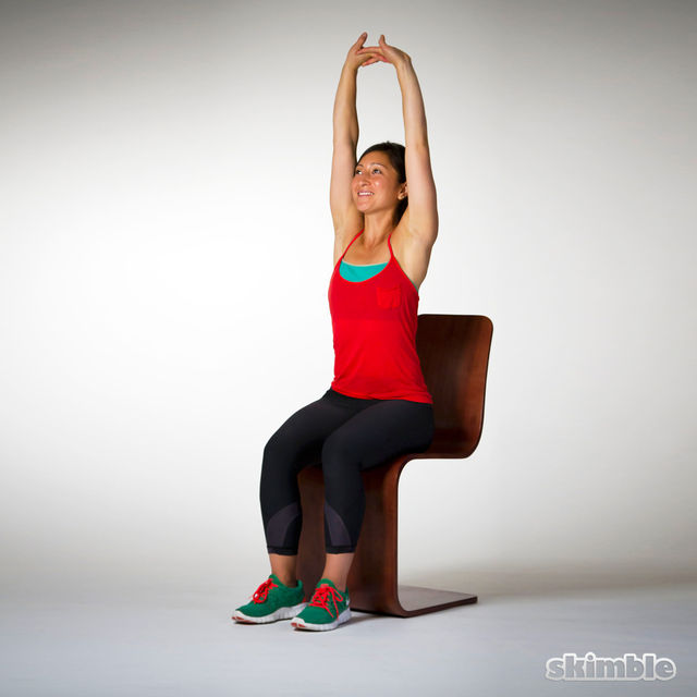Overhead Stretches - Exercise How-to - Workout Trainer by ...