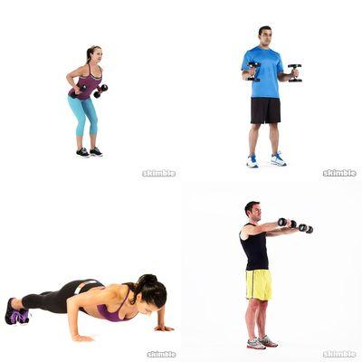 Arms, Shoulders, Chest & Back; Basement