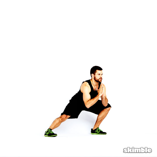 How to do: Clock Lunges - Step 4