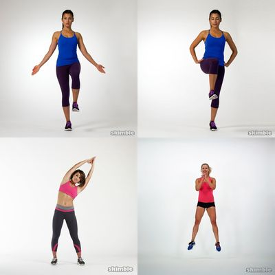 Quick stretch, tone & strengthen