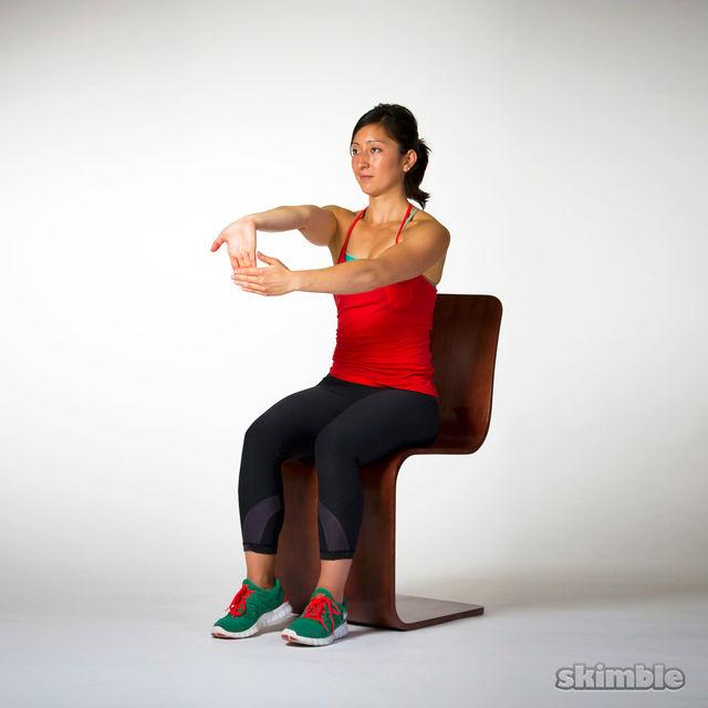 How to do: Underhand Wrist Flexor Stretches - Step 8