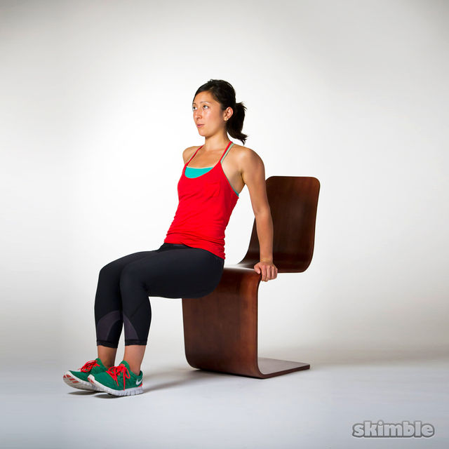 5 Min Office Workout