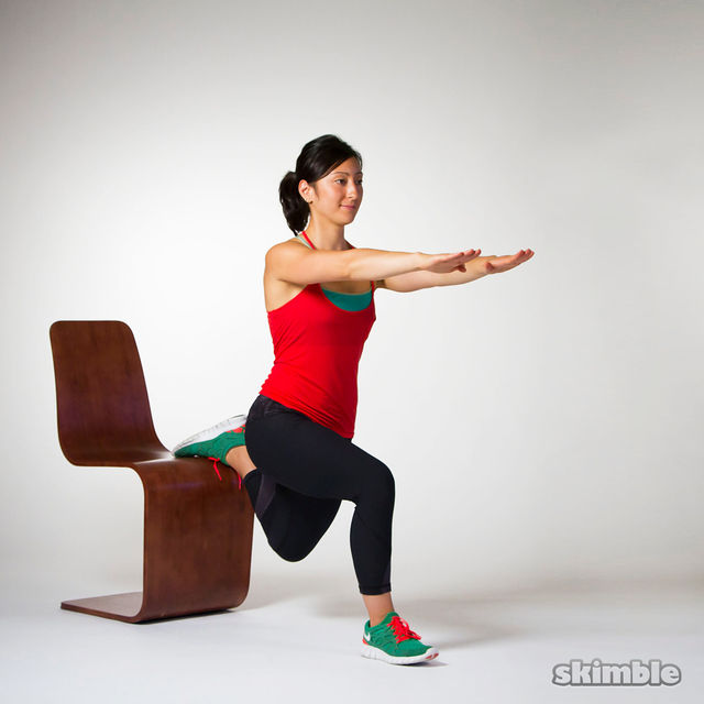 How to do: Bulgarian Split Squats - Step 5