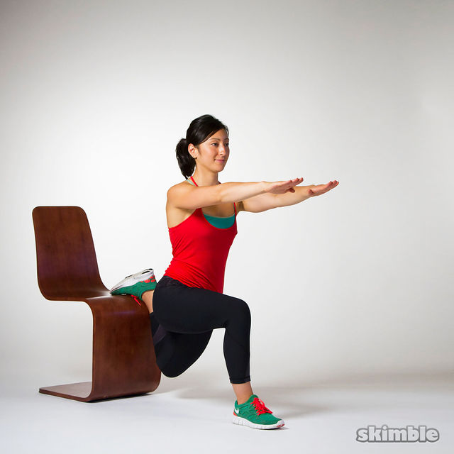 How to do: Bulgarian Split Squats - Step 6