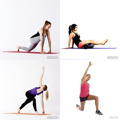 Back pain stretching