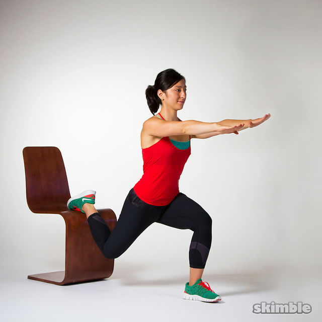 How to do: Bulgarian Split Squats - Step 2