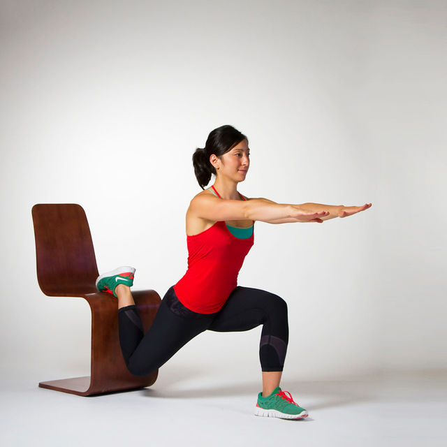 How to do: Bulgarian Split Squats - Step 3