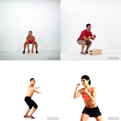 standard workouts (20-40min)