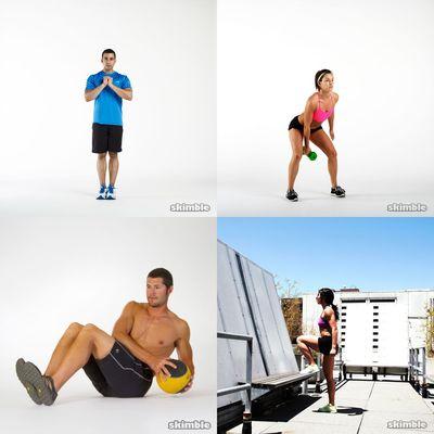 quick workouts (less than 20min)