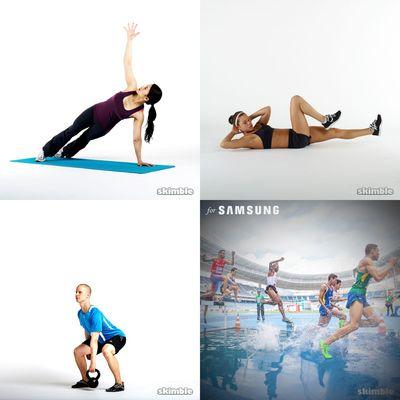 mini workout (5min or less)