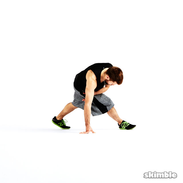 How to do: Fast Clockwise Sixstep - Step 4