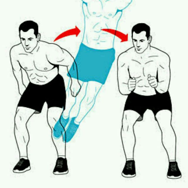 How to do: Lateral Jump - Step 1