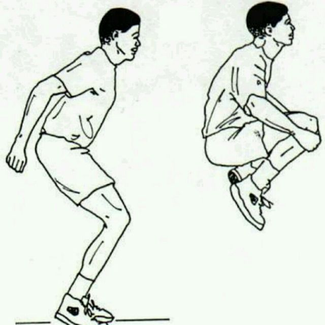 How to do: Tuck Jumps - Step 1