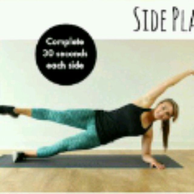 How to do: Side Plank Crunch - Step 2