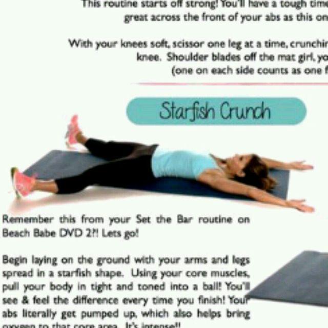 How to do: Starfish Crunch - Step 1