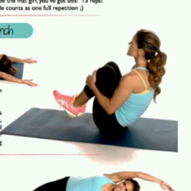 How to do: Starfish Crunch - Step 2