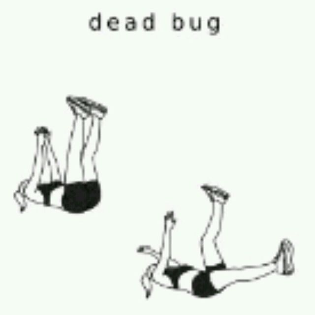 How to do: Dead Bug - Step 1