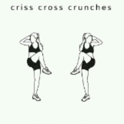 Criss Cross Crunches