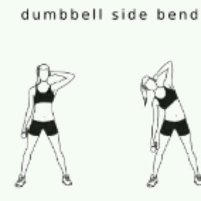Dumbell Side Bend