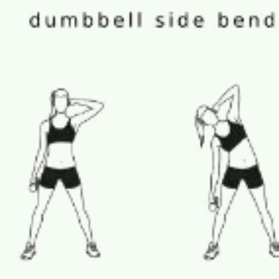 Dumbell Side Bend
