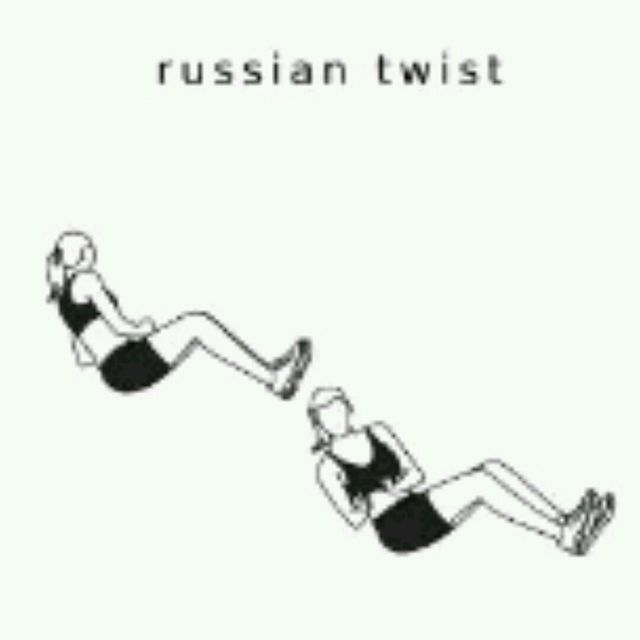 How to do: Russian Twist - Step 1