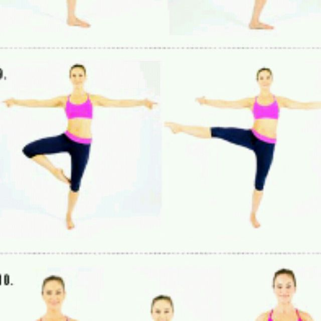 How to do: Foot STRETCH STAR - Step 1