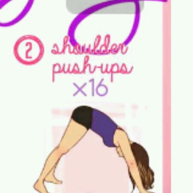 How to do: Shoulder Pushups - Step 1