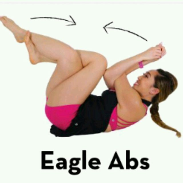 How to do: Eagle Abs - Step 1