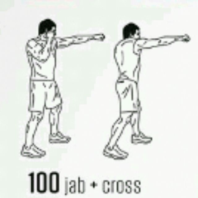 How to do: Jab Cross - Step 1