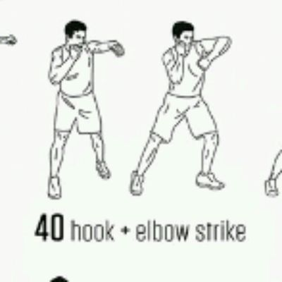 Hook &  Elbow Strike