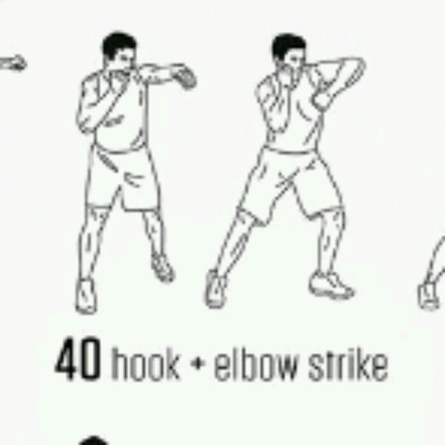 How to do: Hook &  Elbow Strike - Step 1