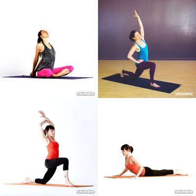 streching + yoga