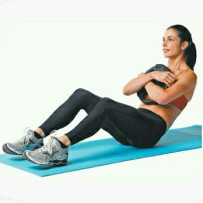 Weighted fast sit ups - angle 60-90