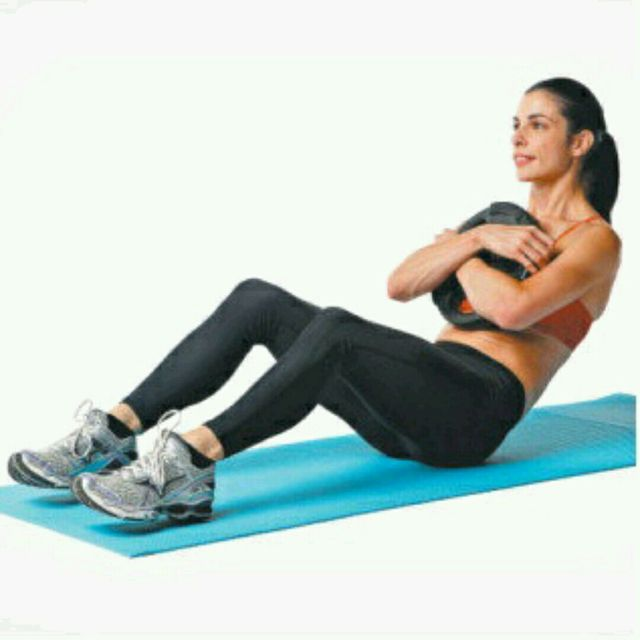 How to do: Weighted fast sit ups - angle 60-90 - Step 1