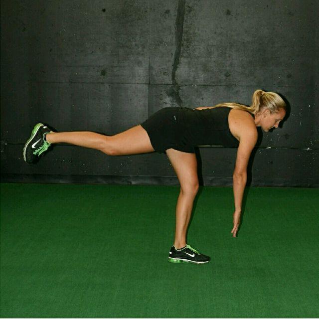 How to do: Single Leg RDL - Step 2