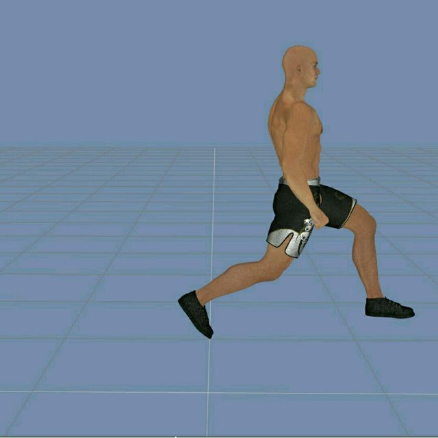 How to do: Round The Clock Lunges - Step 6