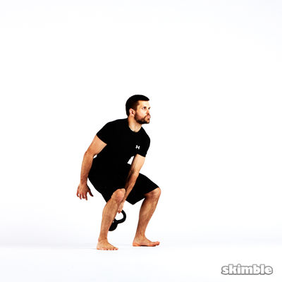 Right Arm Kettlebell Snatch