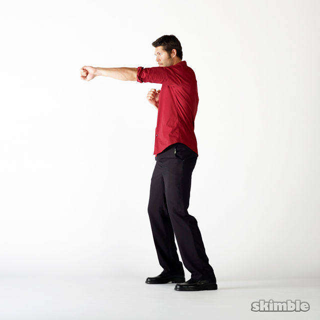 How to do: Shadow Boxing - Step 2