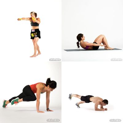 core and strength